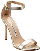 Manolo Blahnik Chaos 105 Leather Sandal