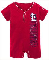 Majestic Baby Boys' St. Louis Cardinals Romper, (0-24 months)