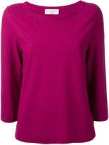 Zanone boat neck sweater - women - Cotton - 46