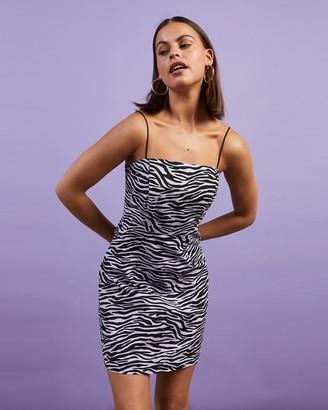 Dazie - Women's Purple Mini Dresses - Safari Mini Dress - Size 6 at The Iconic