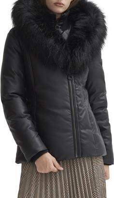 Noize Sweetheart Hood Parka with Faux Fur Trim