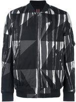Rick Owens camouflage flight jacket