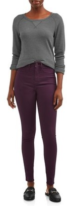 Time and Tru Women's High Rise Sculpted Jeggings
