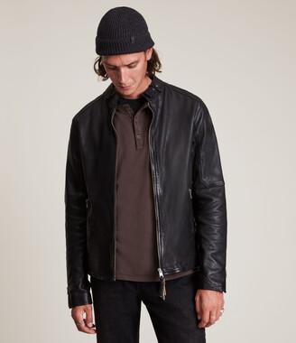 AllSaints Cora Leather Jacket