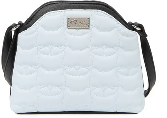 Betsey Johnson Luv Betsey By Cat Quilted Crossbody Bag