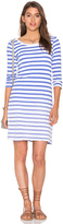 Splendid Sunfaded Stripe Jersey Mini Dress