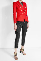 Balmain Blazer with Embossed Buttons