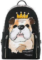 Dolce & Gabbana Bulldog backpack