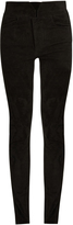 Isabel Marant High-rise skinny-leg suede trousers