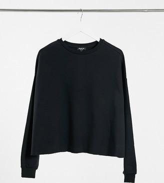 Simply Be sweatshirt in black