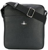 Vivienne Westwood logo pin messenger bag
