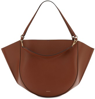 Wandler Mia Smooth Leather Tote Bag