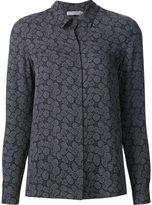 Vince jacquard shirt - women - Silk - 2