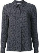 Vince jacquard shirt - women - Silk - 4