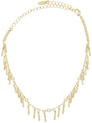 Ettika 18K Gold Plated CZ Piano Keys Choker
