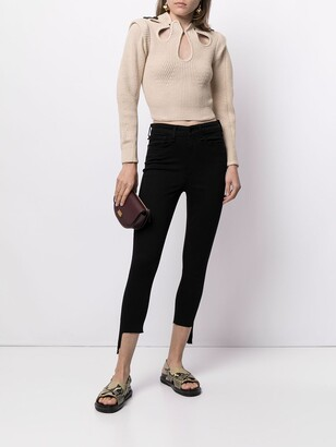 Rag & Bone Cropped Skinny Fit Jeans