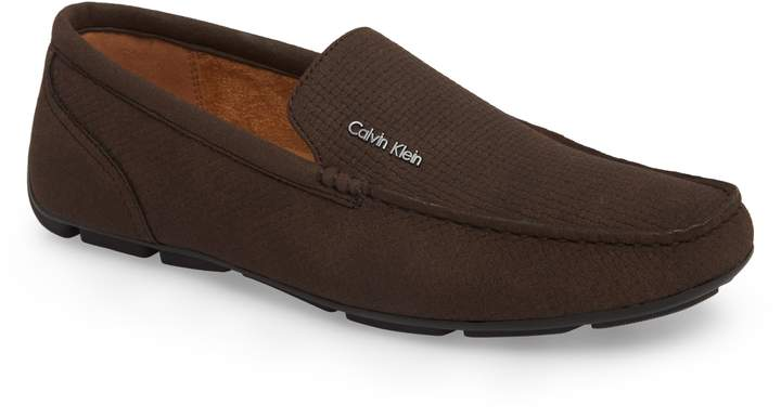Calvin Klein Manny Textured Driving Loafer