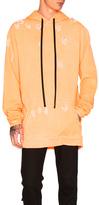 Unravel for FWRD Oversized Hoodie in Orange,Neon.