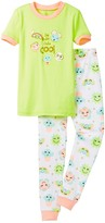 Petit Lem I'm Tres Tres Cool Pajama - 2-Piece Set (Toddler & Little Girls)