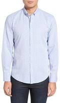 Zachary Prell Men's Benedict Print Sport Shirt