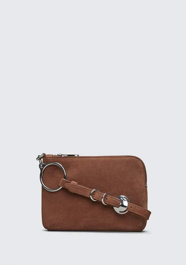 Alexander Wang TERRACOTTA ACE SMALL WRISTLET SMALL LEATHER GOOD