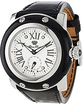 Glam Rock Women's GR10059 Miami Collection Black Patent Watch