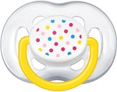 Philips BPA Free Contemporary Freeflow Pacifier, 6-18 Months, Colors and Designs May Vary