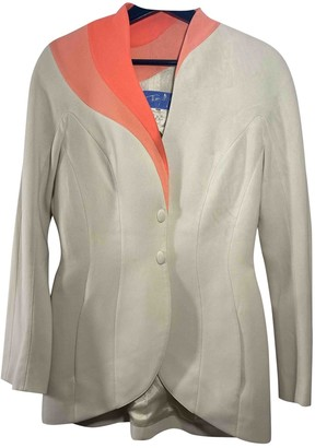 Thierry Mugler Multicolour Polyester Jackets