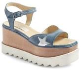 Stella McCartney Women's Star Platform Wedge Sandal