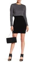 Nicole Miller Popover Sweatshirt Dress