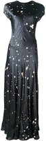 Alexander Wang splatter print dress