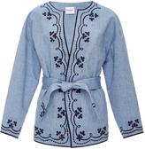 Vilshenko Embroidered Denim Jacket