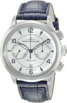 Zeno Men's 6302BVD-G3 Retro Tre Chronograph Dial Watch