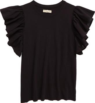 Tucker + Tate Ruffle Sleeve T-Shirt