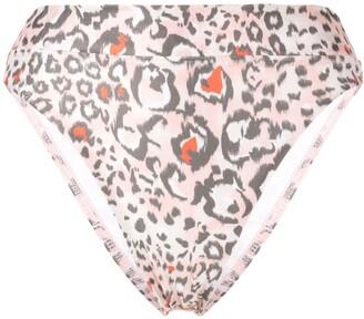 SUBOO Uma leopard-print super high bottoms
