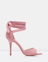 Forever New Mambo Ankle Tie Heels