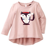 Tea Collection Ocha Graphic Top (Baby Girls)