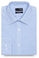 Thomas Nash Blue Gingham Checked Regular Fit Shirt
