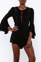 Anama Lace Up Romper