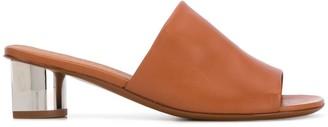Clergerie Lea 50mm open toe mules