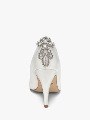 Rainbow Club Electra Diamante Shoe Clips, Silver