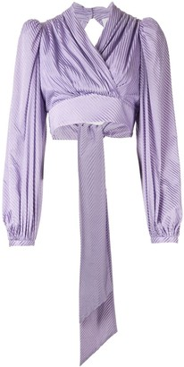 Acler Blackburn cropped blouse