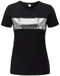 BOSS Regular-fit T-shirt with 3D foil-print logo