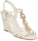 Adrianna Papell Kristen Evening Wedge Sandals