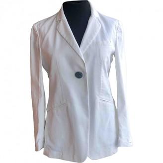 Maliparmi White Cotton Jacket for Women