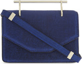 M2Malletier Indre textured leather clutch