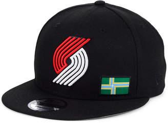 New Era Portland Trail Blazers Flawless Flag 9FIFTY Cap