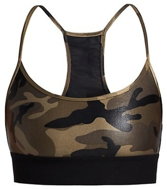 Koral Sweeper Camouflage Sports Bra