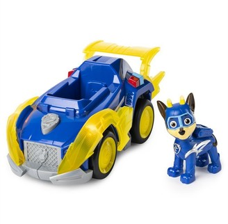 Paw Patrol Mighty Pups Super Paws Deluxe Vehicle with Lights and Sounds - Chase