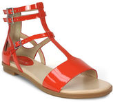 Tahari Wave Flat Leather Sandals